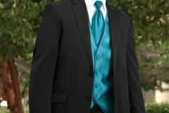 Black Lariat Western Tuxedo