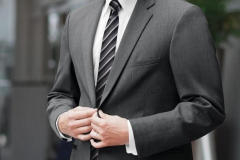 Grey Ceremonia Suit