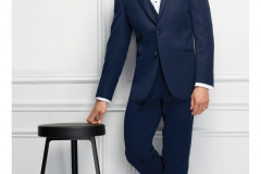 Navy Michael Kors Wedding Suit