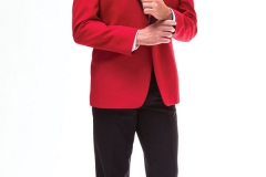 Ike Behar Red Carmine
